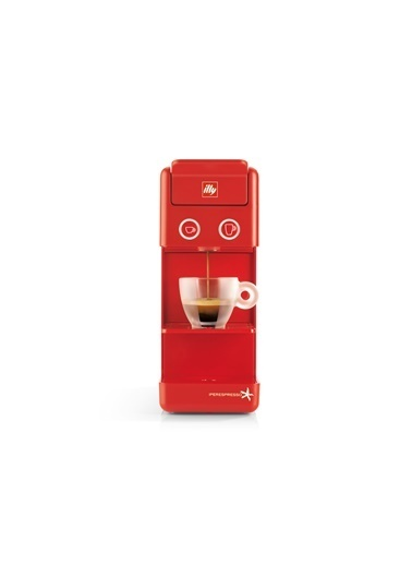 İlly Y3.2 Espresso& Filtre Kahve Makinesi Ipso Home Kırmızı Kırmızı